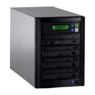 CD/DVD Copytower with 3 DVD-drives.