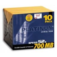 CD-virgens PLATINUM, 80min/700 MB